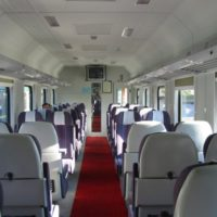 Скоростной поезд повышенной комфортности